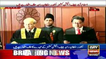 Chief Election Commission taking oath