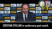 INTER-CAGLIARI 1-1: CRISTIAN STELLINI vice di ANTONIO CONTE in CONFERENZA STAMPA – INTEGRALE