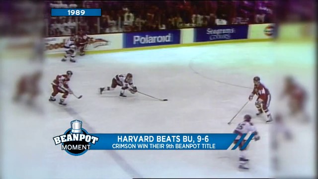 Harvard Beats BU, Crimson Wins Their Ninth Beanpot Title (1989)