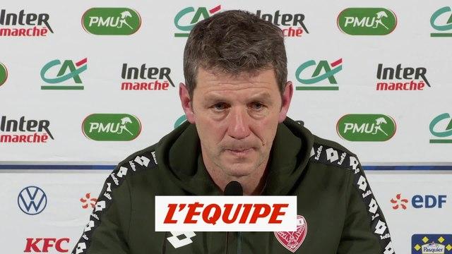 Jobard «L'essentiel c'est de passer» - Foot - Coupe - Dijon