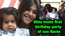 Ekta Kapoor hosts first birthday party of son Ravie