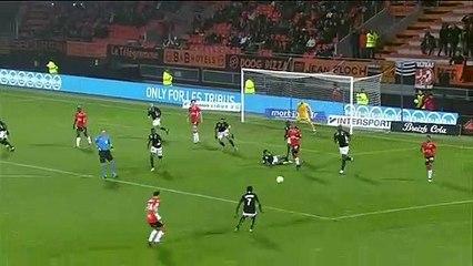 Le résumé de FC Lorient - Nancy (2-1) 19-20