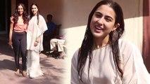 Sara Ali Khan का पोस्ट वर्कआउट लुक, Gym से ऐसे निकली सारा; Watch Video | FilmiBeat