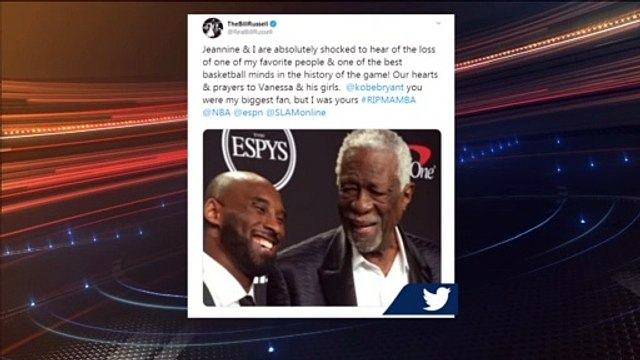 Bill Russell And Celtics Players React To Kobe Bryant Death