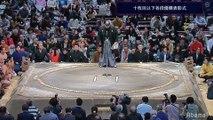 Division Yusho Award ceremony - Hatsu 2020 (Abema TV)