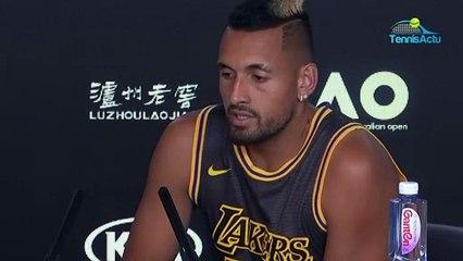 "Open d'Australie 2020 - Nick Kyrgios : ""I have never met Kobe Bryant ..."""