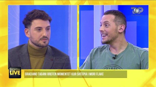 Graciano rrëfen momentet kur shtëpia u mbyt nga flakët - Shqipëria Live, 27 Janar 2020