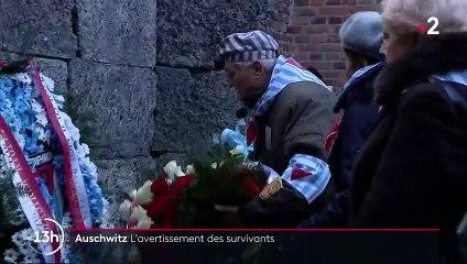 Auschwitz : une cérémonie pour se souvenir de la Shoah