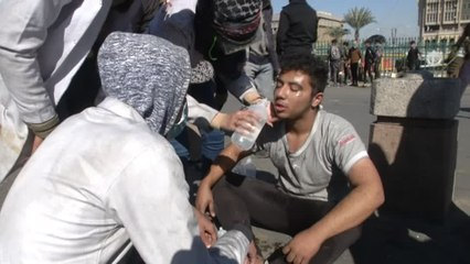 Two Iraq protesters killed as anti-government unrest persists