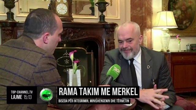 Rama takon Merkel/ Kancelarja: Do jemi në konferencën e donatorëve për Shqipërinë