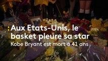 Aux Etats-Unis, le monde du basket rend hommage à Kobe Bryant