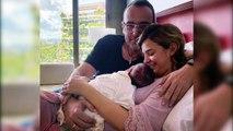 Laura Escanes muestra en Instagram la realidad de ser madre