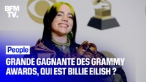Portrait de Billie Eilish, la grande gagnante des Grammy Awards
