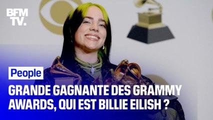 Portrait de Billie Eilish, la grande gagnante des Grammy Awards