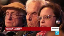 "Auschwitz, 75 years on: ""Do not be indifferent"", says death camp survivor Marian Turski"