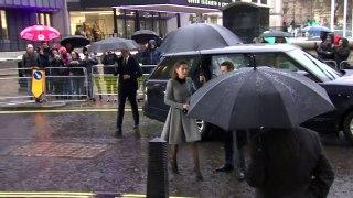 Duke and Duchess of Cambridge meet Holocaust survivors