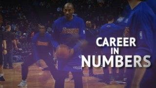Kobe Bryant's NBA career in numbers