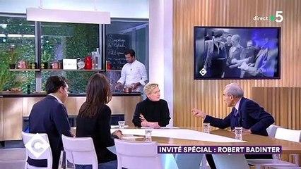 Invité spécial : Robert Badinter - C à Vous - 27/01/2020