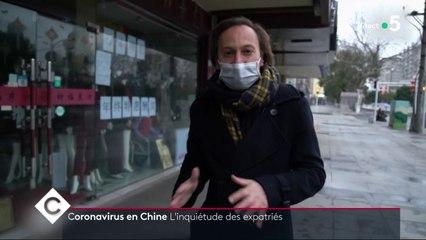 Coronavirus : Faut-il avoir peur ? - C à Vous - 27/01/2020