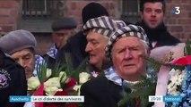 75e anniversaire de la libération d'Auschwitz : le difficile devoir de mémoire des rescapés