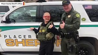12-Year-Old With Rare Disease Gets To Ride In Patrol Car