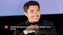 Henry Golding On Stunt Work For 'Snake Eyes'