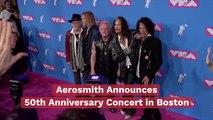 Aerosmith Heads To  Fenway Park