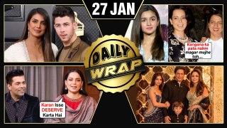 Priyanka Nick GRAMMYS 2020, Rangoli TAUNTS Alia, Sooryavanshi Trailer | Top 10 News