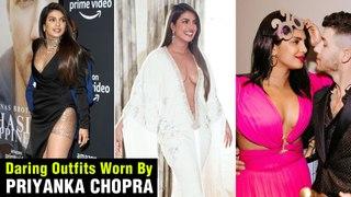 Priyanka Chopra Most DARING BOLD Dresses At Award Funtions With Husband Nick Jonas