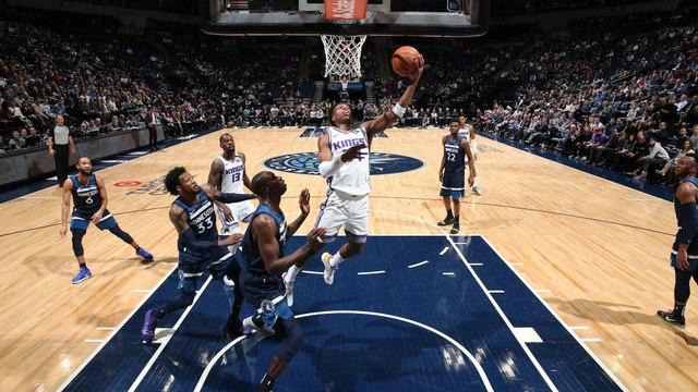 NBA : Sacramento assomme les Wolves en prolongation