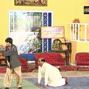 Best Of Sajan Abbas and Saima Khan Stage Drama Full Comedy Clip