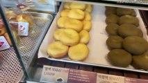 【Papa Donas】 I had the popular Mochi Donas! Crispy and softly melted Mochi Donas (ノω`)♡