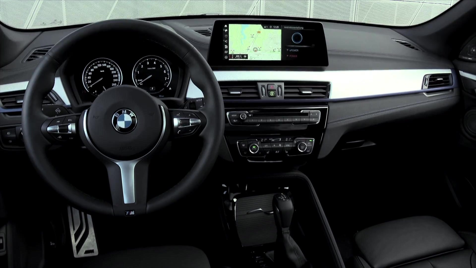 The New Bmw X1 Xdrive25e Design Interior Video Dailymotion