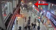 Elazığ'daki depremin yarattığı panik MOBESE kameralarına yansıdı