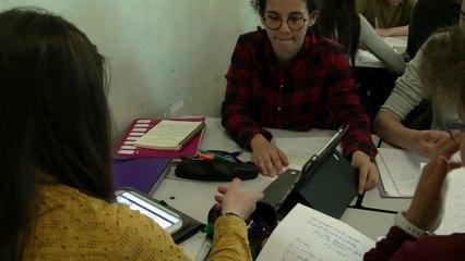 Test et écriture collaborative sur Moodle