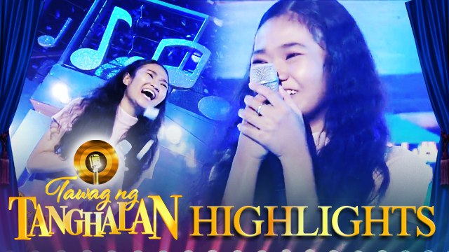 Cherry Lyn Pausal steals the golden microphone from PJ Ramirez   Tawag ng Tanghalan