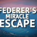 Federer saves seven match points in miracle escape
