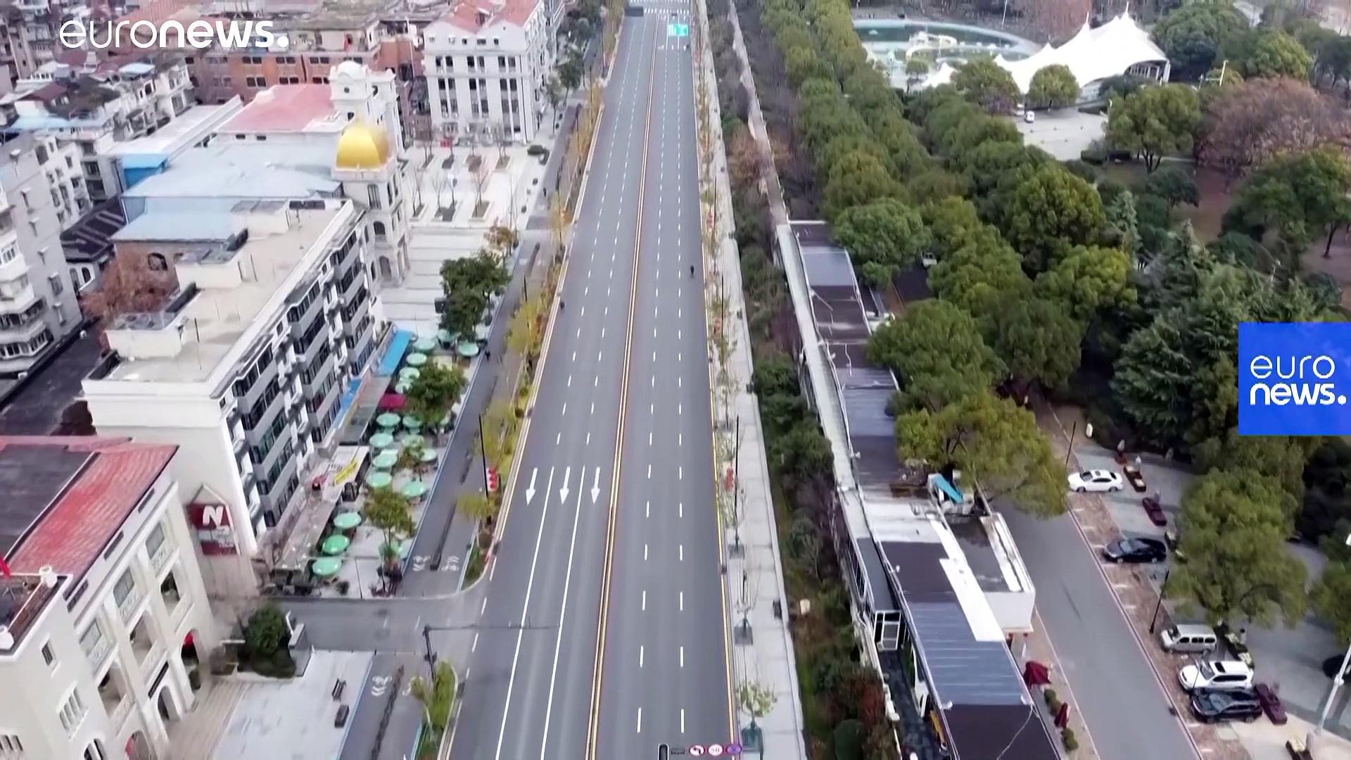 Coronavirus: le immagini di Wuhan, (strategica) città fantasma da 11 milioni di abitanti