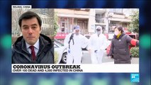 China: More than 100 people confirmed dead as coronavirus spreads