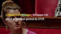 Critiques contre l'islam : Schiappa s'en prend au délégué général du CFCM