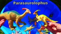Dinosaurs for kids, Dinosaurs Baby Mom, Jurassic World Dinosaur Toys Kids Video