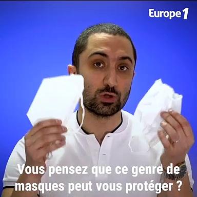 Masque anti-virus : Comment bien le choisir, le porter et se protéger de la contamination (les conseils du Docteur Jimmy Mohamed)