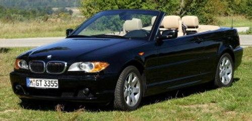 Das BMW 3er Cabrio