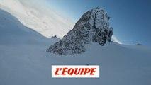 Aurélien Ducroz sur les pentes du volcan Erciyes en Turquie - Adrénaline - ski freeride