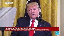 "Trump: ""Forging peace between Israelis and Palestinians may be the most difficult challenge of all"""