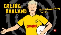 Erling Haaland, the Borussia Dortmund Story so far by 442oons