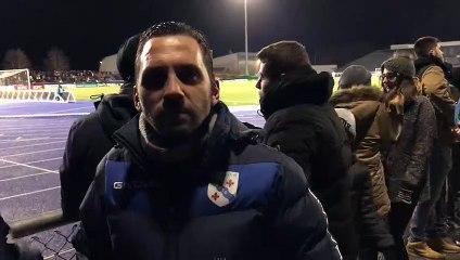 Belfort - Montpellier en Coupe de France :  au bord du terrain, Sylvain y croit à fond !