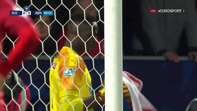 Sur penalty, Bahoken égalise à 3-3 et offre la prolongation à Angers