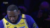 Mort de Kobe Bryant - Le vibrant hommage de LeBron James