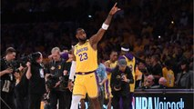 LeBron Celebrates Kobe In Emotional Tribute
